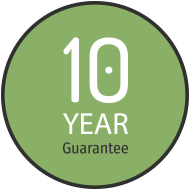 10 Years Guarantee with Warm for Life
