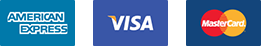 Make Card Payments with American Express, Visa or Mastercard